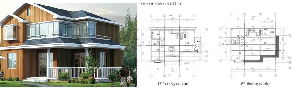 prefabricated houses for sales europe