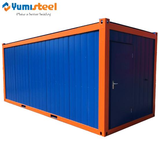 20ft flat packed containers