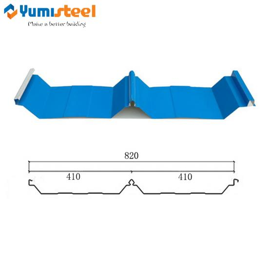 pre-painted concealed screw steel sheets