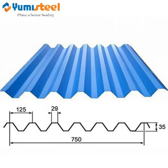 Wave Wall Steel Sheet